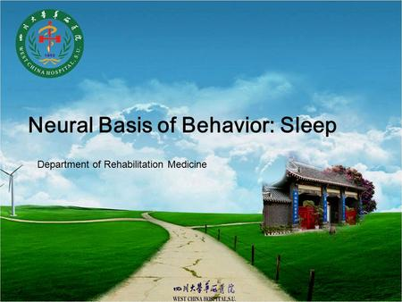 Neural Basis of Behavior: Sleep