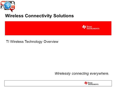 Wireless Connectivity Solutions