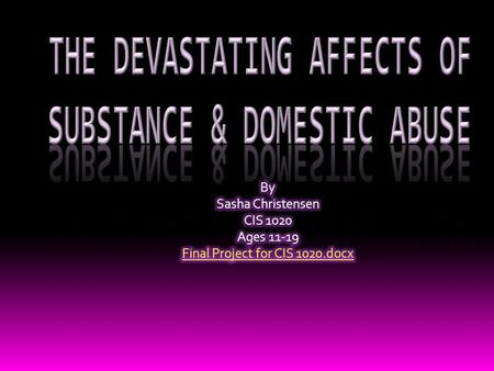 " Domestic Abuse, also known as Intimate Partner Violence, is abuse that occurs between two people in a close relationship.  ""Intimate Partner"" is."