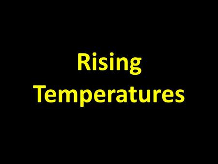 Rising Temperatures. Various Temperature Reconstructions from 200-2008.