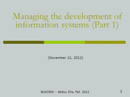 Mis505 essentials of information systems and programming final exam