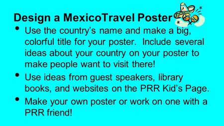 Design a MexicoTravel Poster