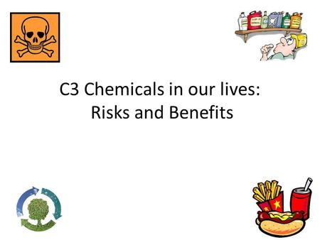 C3 Chemicals in our lives: Risks and Benefits. A journey through geological time The Earth's outer layers are divided into a number of _________ ________.