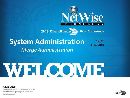 System Administration Merge Administration. Session Agenda Introduction To Merges 3 Steps To Configure Merges Maintaining Merges Question.