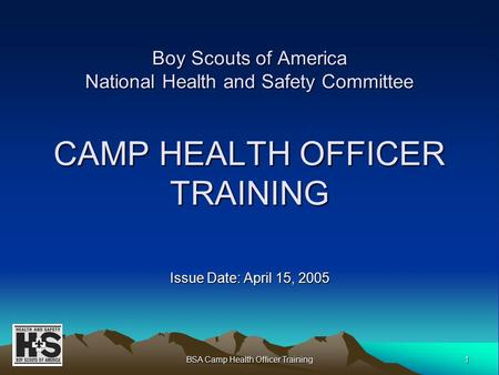 Boy Scouts Of America National Health And Safety Support Committee