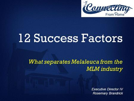 What separates Melaleuca from the MLM industry