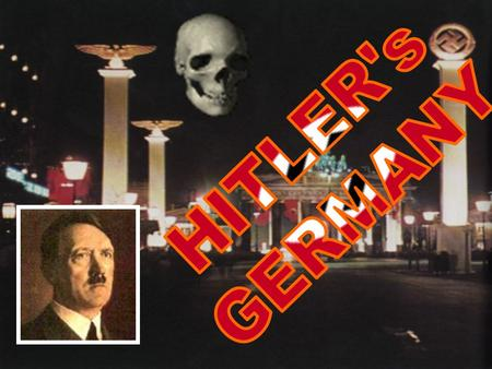 The Christian Churches  Germany was a Christian country  Protestants and Roman Catholics  Hitler did not trust the churches  Feared that they had.