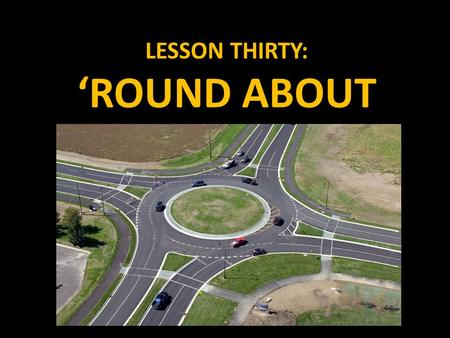 LESSON THIRTY: 'ROUND ABOUT. INSCRIBED AND CIRCUMSCRIBED FIGURES We already know a bit about circles. You know how to find the radius. You know how to.
