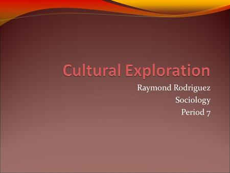 Raymond Rodriguez Sociology Period 7. Peru Location Located in western South America.