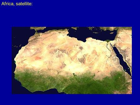 Africa, satellite:. Sahara regions:  ts_map.png.