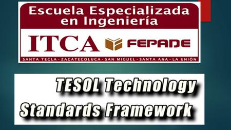 Technology Standards for Language Learners TECHNOLOGY STANDARDS FOR LANGUAGE TEACHERS.