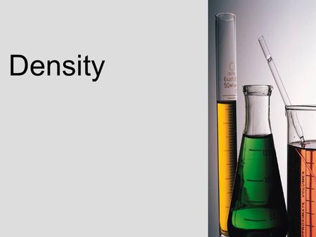 Density. The amount of matter compared to the space it occupies.