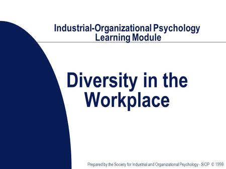 industrial psychology in the work place