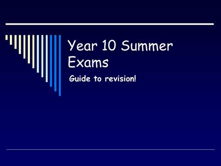 Year 10 Summer Exams Guide to revision!. Today we will be looking at… 1. The sewing machine and considerations 2. Construction processes 3. Fabric construction.