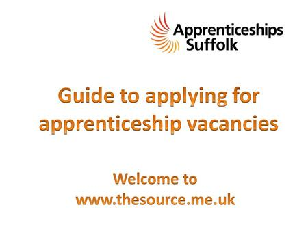 Now you have found the apprenticeships section on The Source, check the menu on the left hand side and click on the apprenticeship vacancies page.