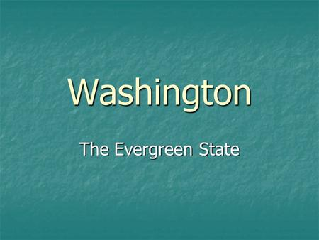 Washington The Evergreen State. The state flag and the state seal are similar. Passed in 1923, Washington state law describes the flag as having dark.