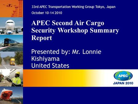 APEC Second Air Cargo Security Workshop Summary Report