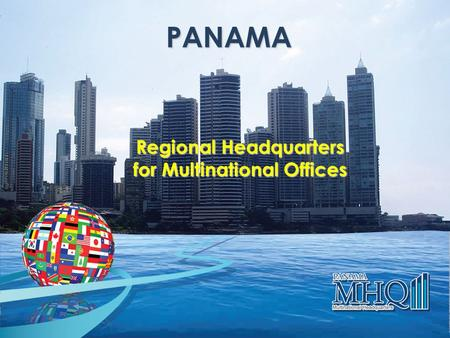 Regional Headquarters for Multinational Offices