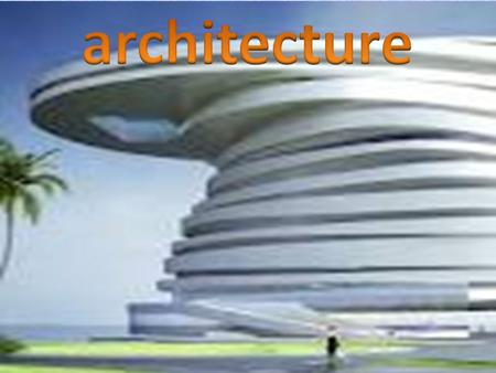 Architects use creativity and a practical understanding of structures and materials to develop concepts, plans, specifications and detailed drawings for.