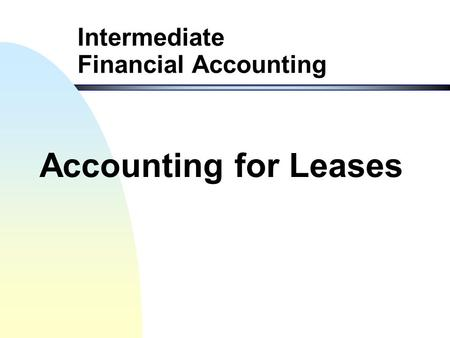 intermediate accounting chapter 1 exercises Jectives and end-of-chapter exercises and problems learning objective knowledge comprehension application analysis synthesis financial accounting, 9/e.