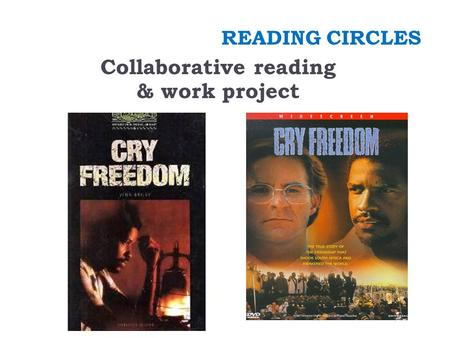 READING CIRCLES Collaborative reading & work project.