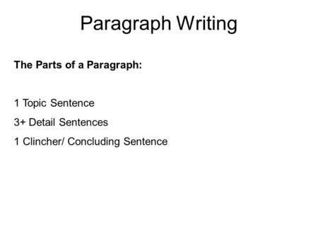 elements of essay coherence