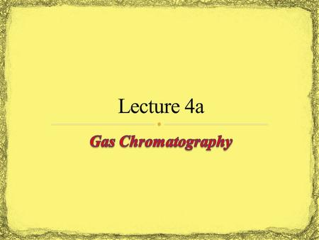 Gas chromatography is used in many research labs, industrial labs (quality control), forensic (arson and drug analysis, toxicology, etc.), environmental.