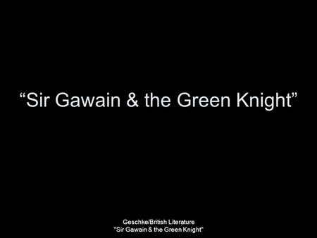the similarities between the epics sir gawain and the green knight and beowulf This essay sir gawain and the green knight: these are not the only similarities between the two plot elements sir gawain and the green knight beowulf vs sir gawain.