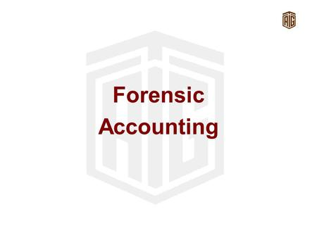 Forensic Accounting. Agenda Definition History Skills Business scandals Cases.