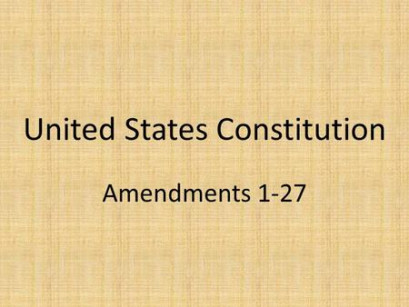 how to change a constitutional amendment