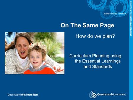 Curriculum Planning using the Essential Learnings and Standards