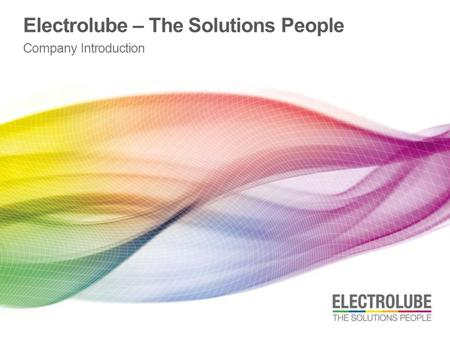 Electrolube – The Solutions People Company Introduction.