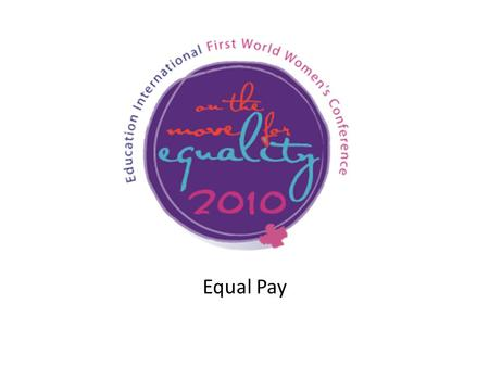 Equal Pay. Equal Remuneration Convention, 1951 (No. 100) ARTICLE 2 1.Each Member shall, by means appropriate to the methods in operation for determining.