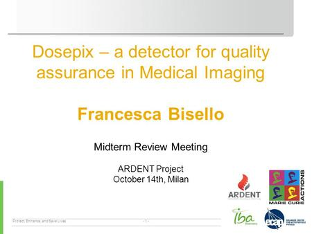 Dosepix – a detector for quality assurance in Medical Imaging