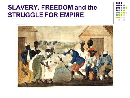 history slavery and american freedom An annual visiting faculty lecture series hosted since 2001 by the college of osteopathic medicine at michigan state university the award-winning series highlights persons who have become icons of the american struggle for civil rights.