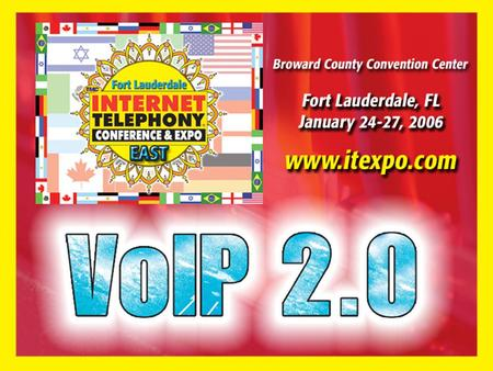 Published Summary WiFi VoIP: From Installation to Implementation (W-02) Thursday - 01/26/06, 12:30-1:15pm In this session, users can expect to learn about.