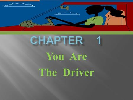 You Are The Driver. Section Objectives *Describe the 3 parts if the Highway transportation system(HTS) *Tell how the HTS is regulated.