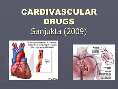 CARDIVASCULAR DRUGS Sanjukta (2009). CARDIOVASCULAR DISEASE AND DRUGS ► Basic cardiovascular physiology and pathology depends on the control of heart.