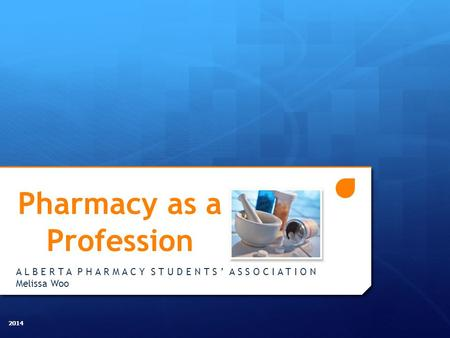 Pharmacy as a Profession