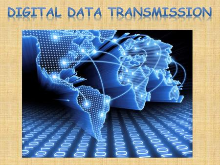 Data transmission refers to the movement of data in form of bits between two or more digital devices. This transfer of data takes place via some form.