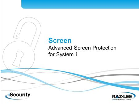 1 Screen Advanced Screen Protection for System i.