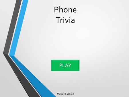Phone Trivia McKay Fackrell PLAY. What is the current operating system for Apple? Question one iOS 8.1.3 Apple 8 OS X Lion OS X Yosemite.