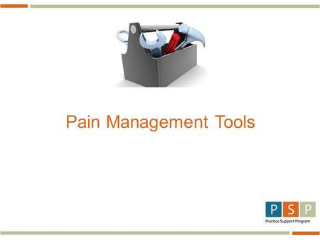 Pain Management Tools. Assessment 3 Pain Diagram.