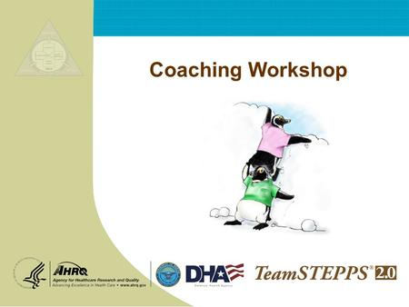 Coaching Workshop.