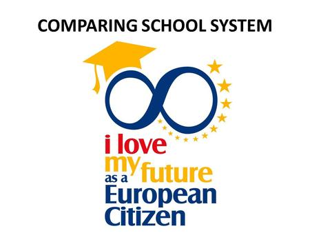 COMPARING SCHOOL SYSTEM. ITALY Beginning of school year: 16/09 Finishing of school year: 7/06 Teacher total lessons per week: 18h (Secondary school, no.