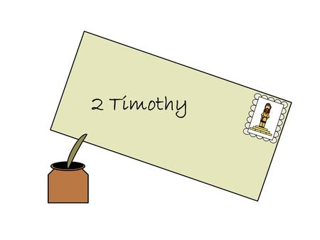 "2 Timothy. The book of 2 Timothy was written by Paul ""to Timothy, my dearly beloved son"". The 2 nd imprisonment of Paul in Rome was difficult. Friends."