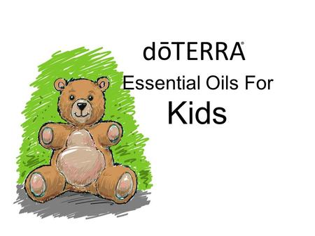 Essential Oils For Kids.