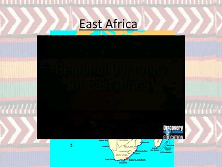 East Africa. Overall physical geography East Africa, though on the same degree of latitude is cooler and drier than West Africa. Deserts are common in.