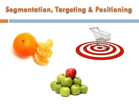 the concept of segmentation and its process Marketing segmentation practices and performance of nigerian  lies in its two-sided nature  success in a market segmentation process is premised on the.