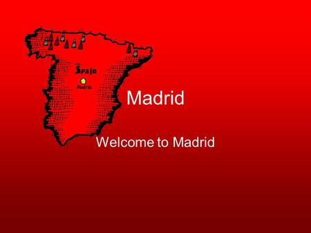 Madrid Welcome to Madrid. Airfares The trip for a 2-way ticket is $694 from Orlando to Madrid, Spain from Orbitz. The flight leaves on October 15,2008.